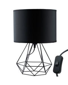Lampa stołowa FILIS geometryczna druciana loft do LED 1xE27 LUMILED