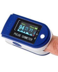 Pulsoksymetr napalcowy PULSOMETR NA PALEC na Baterie 2xAAA