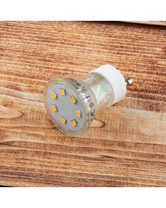 Żarówka LED GU10 GU11 2,5W = 25W 220lm 4000K Neutralna 120° LUMILED