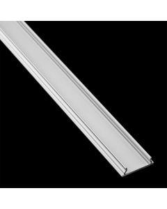 Profil Aluminiowy do LED KM34-S Srebrny Natynkowy 2m
