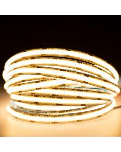 Taśma LED Pasek COB 24V 50W 2560LED Ciepła 8mm 5m