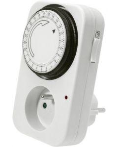 Mechaniczny Zegar Programator Czasowy STER TS-MF1 Biały IP20 Kanlux