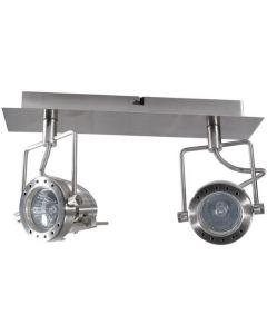 Oprawa Lampa Sufitowa SONDA 2x GU10 CHROM MAT Kanlux