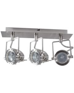 Oprawa Lampa Sufitowa SONDA 3x GU10 CHROM MAT Kanlux