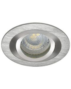 Oprawa sufitowa halogenowa podtynkowa SEIDY MR16 Gx5,3 aluminium Kanlux