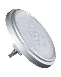 Żarówka LED AR-111 srebrna G53 11W 900lm 2700K ciepła Kanlux