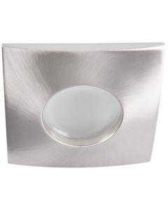 Oprawa sufitowa halogenowa łazienkowa szczelna QULES GU10 chrom mat Kanlux