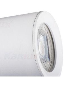 Oprawa lampa sufitowa LAURIN GU10 biała Kanlux