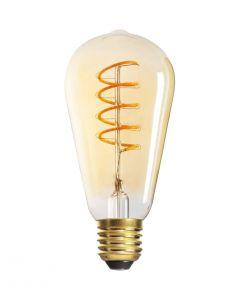 Żarówka LED ST64 E27 5W = 26W 270lm 1800K Ciepła 320° Filament KANLUX XLED