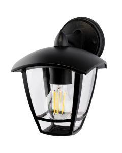 Lampa Ogrodowa Ścienna E27 Kinkiet Elewacyjny do DOŁU NIKO Masterled