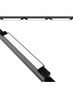 Zestaw Szyna Oświetleniowa Szynoprzewód 2m + 3x Lampy Szynowe LED 15W 4000K Czarna