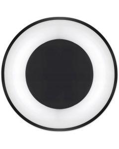 Lampa sufitowa PLAFON LED żyrandol 54W 3000K-6500K czarny + pilot