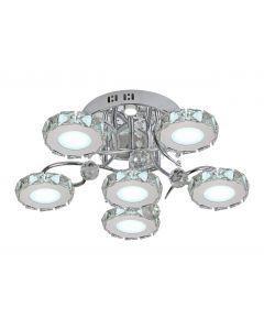Lampa sufitowa Liger 6 LED Metal i szkło Lampex