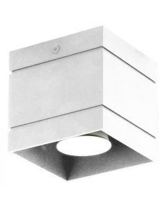 Lampa sufitowa plafon Quado DELUXE 1 biały 1xGU10 Metal styl nowoczesny Lampex