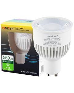 Żarówka LED GU10 6W 550lm CCT Wi-Fi Mi-Light - FUT107