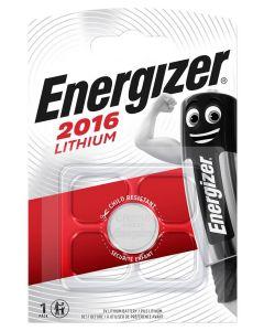 BATERIE Pastylkowe GUZIKOWE ENERGIZER CR-2016 DL-2016 3V Blister 1szt