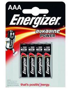 Baterie Alkaliczne ENERGIZER AAA LR03 MN2400 1.5V Blister 4szt