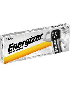 Baterie Alkaliczne ENERGIZER INDUSTRIAL AAA LR03 MN2400 1.5V Blister 10szt