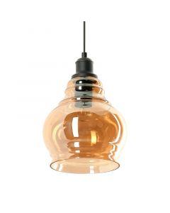 Lampa wisząca Neko 1xE27 Metal i szkło Lampex
