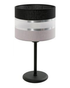 Lampa stołowa biurkowa nocna Donato 1x E27 Metal i PCV Lampex styl nowoczesny