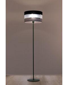 Lampa podłogowa stojąca Donato 1x E27 Metal i PCV Lampex abażur styl nowoczesny