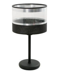 Lampa stołowa biurkowa nocna Leone 1x E27 Metal i PCV Lampex styl nowoczesny