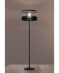 Lampa podłogowa stojąca Leone 1x E27 Metal i PCV Lampex styl nowoczesny