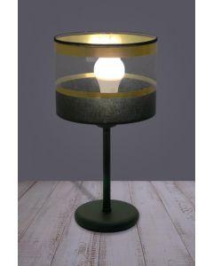 Lampa stołowa biurkowa nocna Elia 1x E27 Metal i PCV Lampex styl nowoczesny