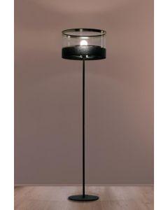 Lampa podłogowa stojąca Elia 1x E27 Metal i PCV Lampex styl nowoczesny