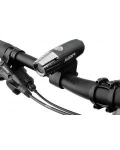 Wielofunkcyjna latarka lampka rowerowa MS 201 5W 400lm LED XPG 4 tryby świecenia