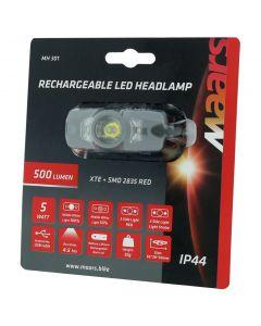 Wielofunkcyjna latarka lampka czołowa z akumulatorem MH 301 5W LED 4 tryby świecenia