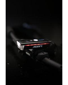 Wielofunkcyjna latarka lampka rowerowa MS 501 5W LED IP65 3 tryby świecenia