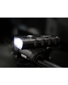 Latarka lampka rowerowa z POWERBANK MR 601 5W 700lm LED IP65 3 tryby świecenia