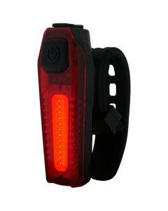 Latarka lampka rowerowa TYŁ MR 705B LED COB 3W 3 tryby świecenia