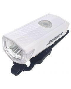 Wielofunkcyjna latarka lampka rowerowa biała MS 401W 3W 300lm LED XPG 3 tryby świecenia