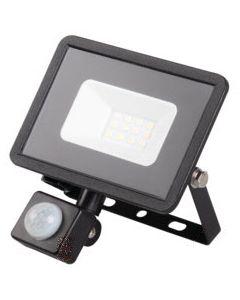 Naświetlacz LED GRUN V2 Czarny 10W 700lm 4000K Neutralna IP44 Czujnik Ruchu Kanlux