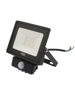 Naświetlacz LED HALOGEN 20W 4000K 1700lm IP65 MDU BVP007 PILA Czujnik ruchu
