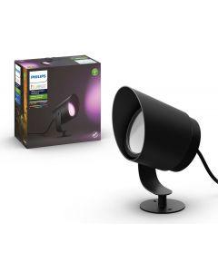Philips HUE LILY XL Zewnętrzna lampa punktowa SPOT 15W 1050lm IP65 Czarna 1746230P7