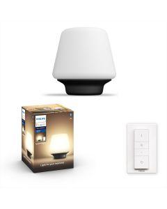 Philips HUE Wellness Lampa biurkowa Stołowa Czarna 1x9,5W ZigBee + Bluetooth 40801/30/P6