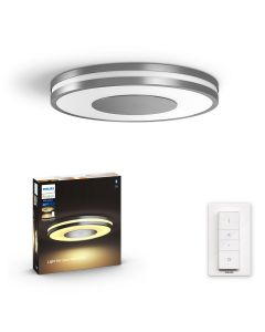 Philips HUE Being Ceiling Lampa sufitowa Srebrna 1x27W ZigBee + Bluetooth 32610/48/P6