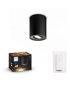 Philips HUE PILLAR Reflektor LED Punktowy Czarny GU10 + Ściemniacz ZigBee + Bluetooth 56330/30/P6