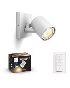 Philips HUE RUNNER Oprawa sufitowa Reflektor SPOT LED Punktowy Biały GU10 + Ściemniacz ZigBee + Bluetooth 53090/31/P6