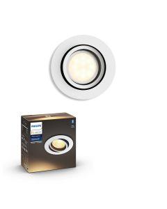 Philips HUE Milliskin Sufitowa Oprawa punktowa okrągła GU10 5.5W Biała ZigBee + Bluetooth 50411/31/P9