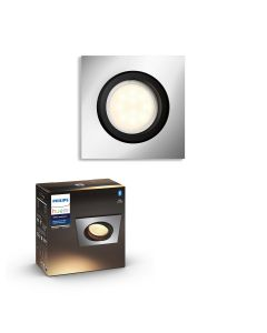 Philips HUE Milliskin Sufitowa Oprawa punktowa kwadratowa GU10 5.5W Srebrna ZigBee + Bluetooth 50421/48/P9