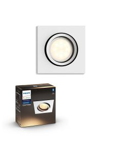 Philips HUE Milliskin Sufitowa Oprawa punktowa kwadratowa GU10 5.5W Biała ZigBee + Bluetooth 50421/31/P9