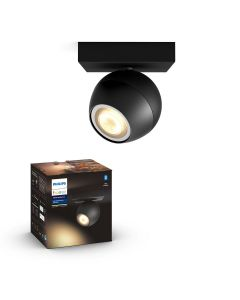 Philips HUE Buckram Reflektor SPOT LED Punktowy Czarny GU10 ZigBee + Bluetooth 50471/30/P9