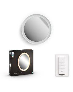 Philips HUE Adore Łazienkowe Lustro z Oświetleniem Biały + Ściemniacz ZigBee + Bluetooth 34186/31/P6