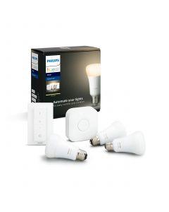 Philips HUE White Zestaw Startowy 3xA60 + Mostek + Ściemniacz Bluetooth Zigbee 8718696785232