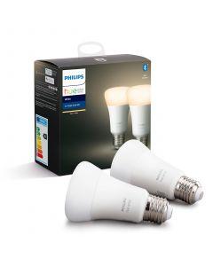 2PAK Żarówka LED E27 A60 9W PHILIPS HUE White Bluetooth Zigbee 8718696785270