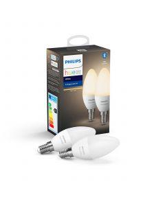 2PAK Żarówka LED E14 B39 5,5W PHILIPS HUE White Bluetooth Zigbee 8718699671273